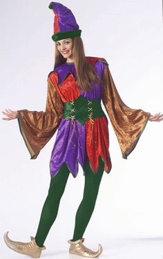 Deluxe Adult Jester Costume                                                                                                                                                                                 More
