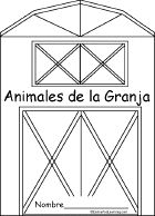 Animales De La Granja Book, A Printable Book in Spanish - EnchantedLearning.com