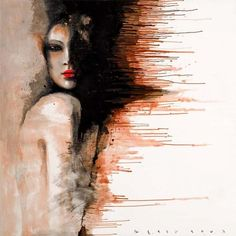 Abstract Paintings by Self-taught Russian Painter Viktor Sheleg. Abstract Paintings by Self-taught Russian painter Viktor Sheleg. Born in Lomonosov, near Abstract Painters, Painting Abstract, Painting Art, Painted Ladies, Art Graphique, Sculpture, Woman Painting, Painting People, Gravure
