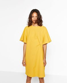 ZARA - WOMAN - DRAPED DRESS