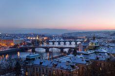 "allthingseurope: ""Prague, Czech Republic (by espinozr) "" Places To Travel, Places To See, Prague Czech Republic, Tumblr, Take Me Home, Budapest, Paris Skyline, Beautiful Places, Photos"