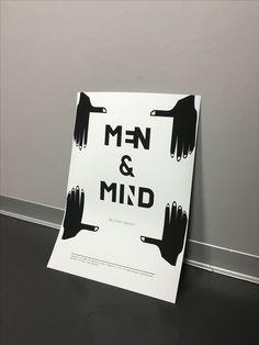 Men&Mind typeface by Johan Elmehag