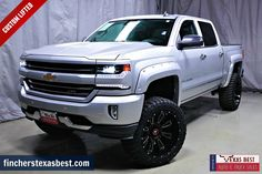 #CUSTOMLIFTED!!! >>> 2016 #Chevrolet #Silverado 1500 #LTZ - One Owner.....Free CarFax.....50+ Lenders - Call Oscar Mejia at 281-931-3900 for more details!! #sehablaespanol #TRUCKCITY fincherstexasbest.com
