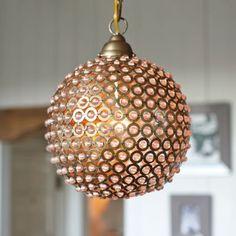 Circles Sphere Pendant Light
