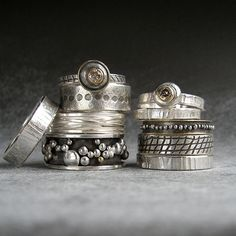 hand forged wedding rings