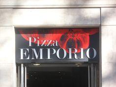 Pizzas EMPORIO, La Rambla, Barcelona.