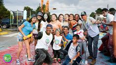 100% fiestas y recreación patrocinante de Ecolors 5K. @fiestas_recreacion