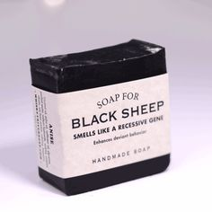 Soap for Black Sheep