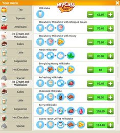 My Cafe Game Milkshake Recipe My Cafe Game Milkshake Recipe Related posts: Oreo Milkshake Recipe Oreo Milkshake, Strawberry Milkshake, Chocolate Milkshake, Milkshake Recipes, Cafe Menu, Cafe Food, Sweet Cafe, Game Cafe, Coffee Games