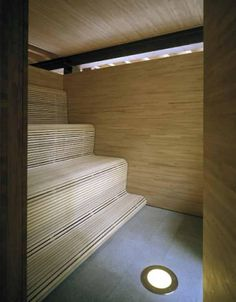 the mill house - västra karup - gert wingårdh - sauna Design Sauna, Tiny Living, Living Spaces, Sauna Hammam, Traditional Saunas, Sweden House, Outdoor Sauna, Shabby Chic, Limestone Flooring