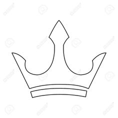 Crown Drawing Outline and Male Crown Luxury Object Royal Emblem Outline Vector Illustration Chicken Meatball Soup, Chicken Satay, Male Crown, Crown Drawing, Crown Images, Banana Fritters, Asian Grocery, Fried Bananas