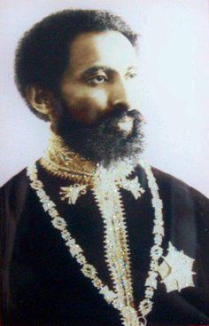 Rastafari Ethiopia's King Selassie I