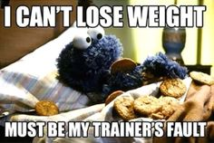 Always blame the trainer