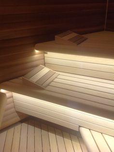 sauna Sauna Ideas, Saunas, Red Cedar, Loft, Sous Sol, Steam Room, Lofts, Attic
