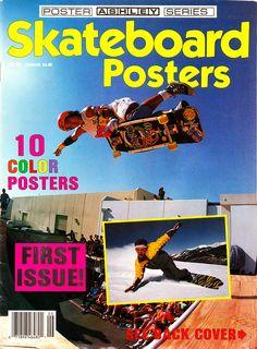 Skateboard Posters # 01 - 1988