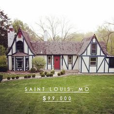 3 Green Acres Rd, Saint Louis, MO — You can live in a magical fairy house and leave a trail of shimmering sparkle dust wherever you go! Home Fashion, St Louis, Acre, Saints, Cabin, House Styles, Green, Trail, Sparkle
