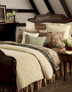 Charming Farmhouse Rustic Master Bedroom Ideas