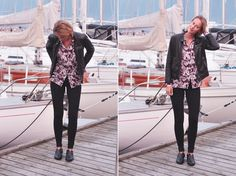 Sidsel from the Danish fashion blog www.sidseloglasse.com rockin' our new printed shirt ;-) #objectfashion