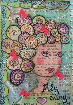 Middle School Art, Art School, Say Word, Altered Book Art, Journal Themes, Dictionary Art, Miniatures, Mixed Media, Portraits