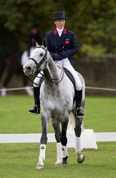 My Inspiration Zara Philips I wouldn't be here today with half my life based around horses and hoping to be in the Olympics one day next to Zara Philips