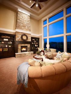 Love the massive floor to ceiling window!