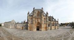 360º Virtual Visit to Mosteiro da Batalha, Portugal - via www.visitasvirtuais.com