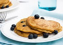 Your family is gonna love: Blueberry-Lemon Quinoa Pancakes from our newsletter.