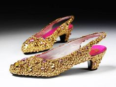 Evening Shoes, Christian Dior, 1952-1954, Paris, France, V&A Collection.