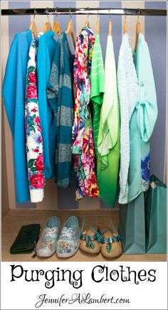 Purging Clothes before a PCS