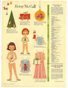 1958 december/ betsy mccall