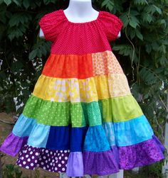 The original My Kids Drawers Rainbow Twirl Dress @My Kids Drawers   https://www.facebook.com/pages/My-Kids-Drawers/223718661039360 https://www.etsy.com/shop/mykidsdrawers