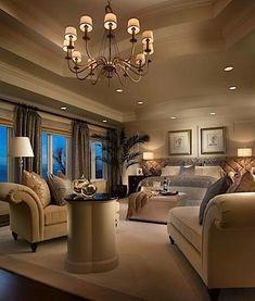 Luxury Bedrooms - how divine...