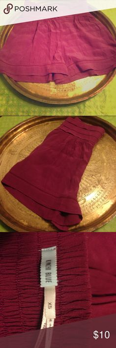 Kimchi Blue UO High Waisted Purple Shorts Preowned 100% Rayon Kimchi Blue Shorts
