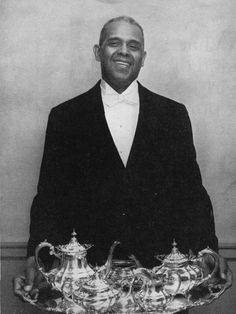 Alonzo Fields: White House's first African-American chief butler served 4 presidents...