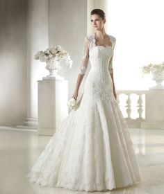 Suellen wedding dress from the Costura 2015 - St Patrick collection | St. Patrick