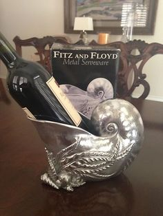 Fitz & Floyd Seaside Wine Caddy