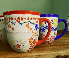 Anthropologie Inspired Mugs | Cool Crafts for Teens | DIY Projects for Teens
