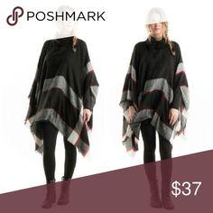 Spotted while shopping on Poshmark: Black Turtle Neck Poncho! #poshmark #fashion #shopping #style #Sweaters