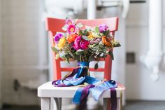 colorful floral bouquet, Janie Medley Flora Design...captured by Stephanie Yonce Photography