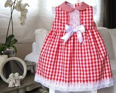 Classic dresses for girls. Toddler Dress, Toddler Outfits, Baby Dress, Kids Outfits, Little Dresses, Little Girl Dresses, Cute Dresses, Girls Dresses, Baby Girl Fashion