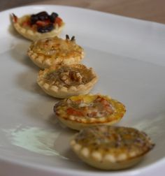 My French Cuisine: Savory Tartlets