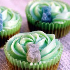 Cupcakes sin gluten de vainilla y miel @keyingredient