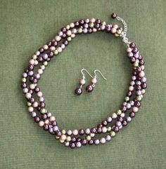 custom bride/bridesmaid jewelry