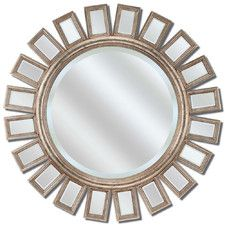 Round Metro Mirror