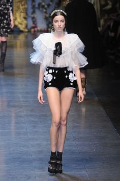 Dolce & Gabbana at Milan Fashion Week Fall 2012 - StyleBistro