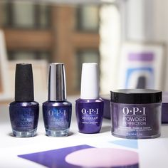 #AbstractAfterDark (a glow up of #LincolnParkAfterDark – one of most iconic shades!) acts as a mark of transition for the artist when the sun goes down and their contemporary art becomes more abstract. #ColorIsTheAnswer #OPIDowntownLA #OPINailLacquer #OPIInfiniteShine #OPIGelColor #OPIPowderPerfection #PurpleNails #PurpleMani #GlitterNails #GlitterMani #OPIObsessed #FallNails #FallMani #DarkNails #DarkMani #LAVibes #ArtScene #ManiPedi #NailInspo #NailedIt #NailGoals Purple Nail Polish, Purple Nails, Interview Nails, Fall Nail Trends, Bad Nails, Opi Nail Colors, Long Lasting Nail Polish, Party Nails, Great Nails