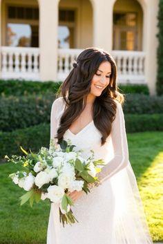 Karen Willis Holmes 'Carina' sequin wedding dress.