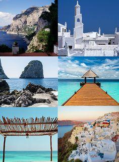 Les Maldives, Capri, Tulum, Santorin… Top 10 des îles paradisiaques à travers le monde, pour bien commencer l'été. http://www.vogue.fr/voyages/hot-spots/diaporama/les-plus-belles-les-du-monde/21391