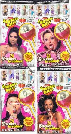 the best chupa chups Spice Girl Lollipops, 90s Childhood, Childhood Memories, Love The 90s, My Love, 90s Girl, 90s Nostalgia, Slumber Parties, Spice Girls