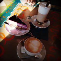 #coffee #capuccino #cake #hotel #new #york #rotterdam Photo: @rooie_rakkert